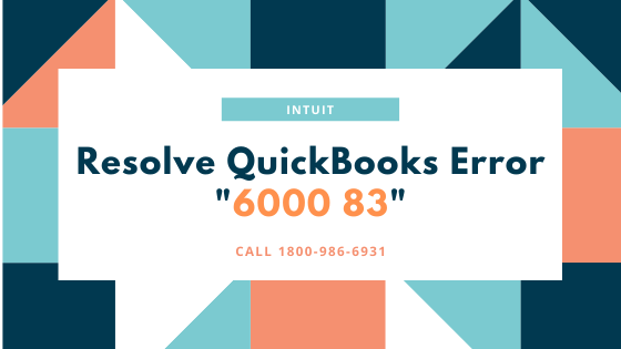 quickbooks error 6000-83